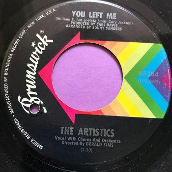 Artistics-You left me-Brunswick E+