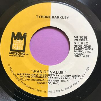 Tyrone Barkley-Man of value-Midsong M-