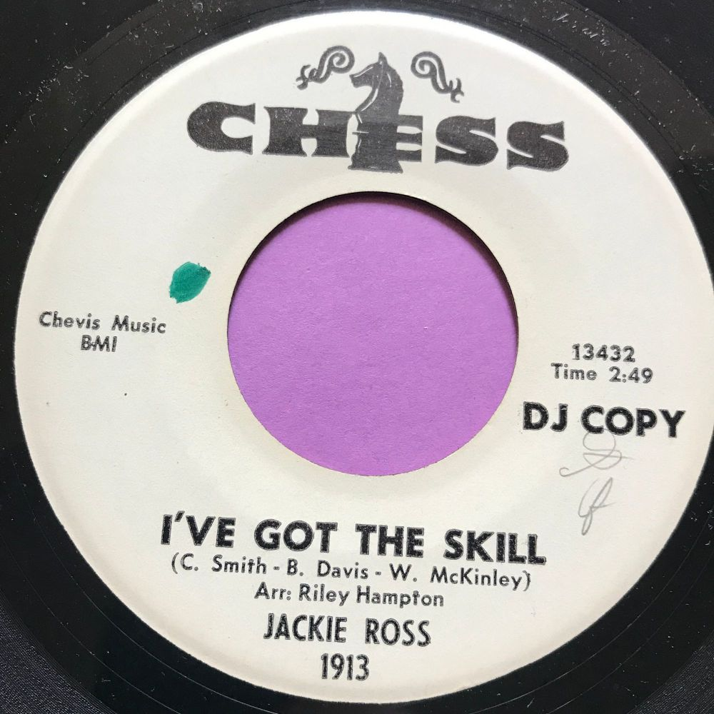Jackie Ross-I've got the skill-Chess WD E+