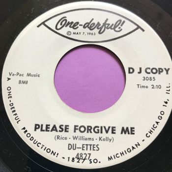 Du-ettes-Please forgive me-One-derful WD E+