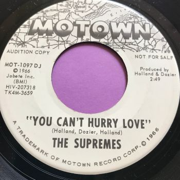 Supremes-You can't hurry love-Motown WD E+
