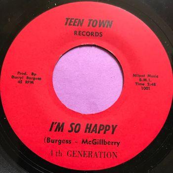 4th Generation-I'm so happy-Teen Town E+