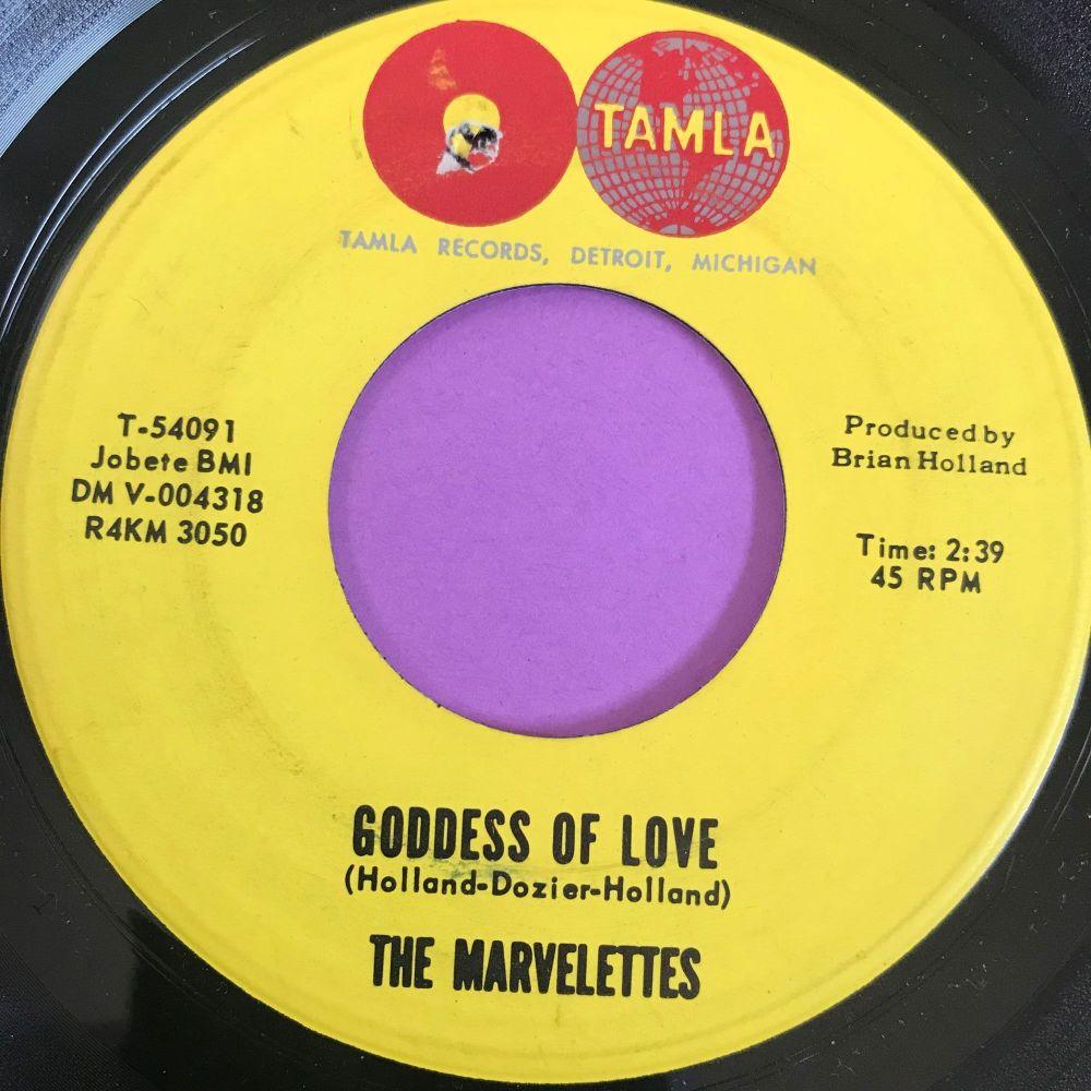 Marvelettes-Goddess of love-Tamla E+