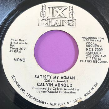 Calvin Arnold-Satisfy my woman-ix Chains WD M-