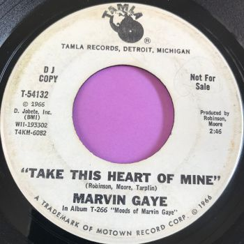 Marvin Gaye-Take this heart of mine-Tamla WD E