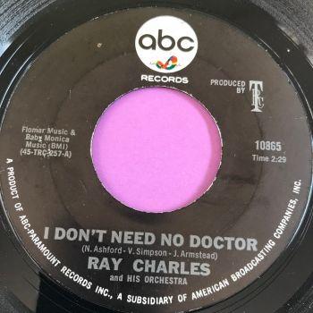 Ray Charles-I don't need no doctor-ABC E+