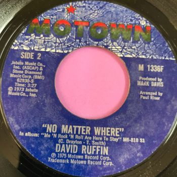 David Ruffin-No matter where-Motown E+