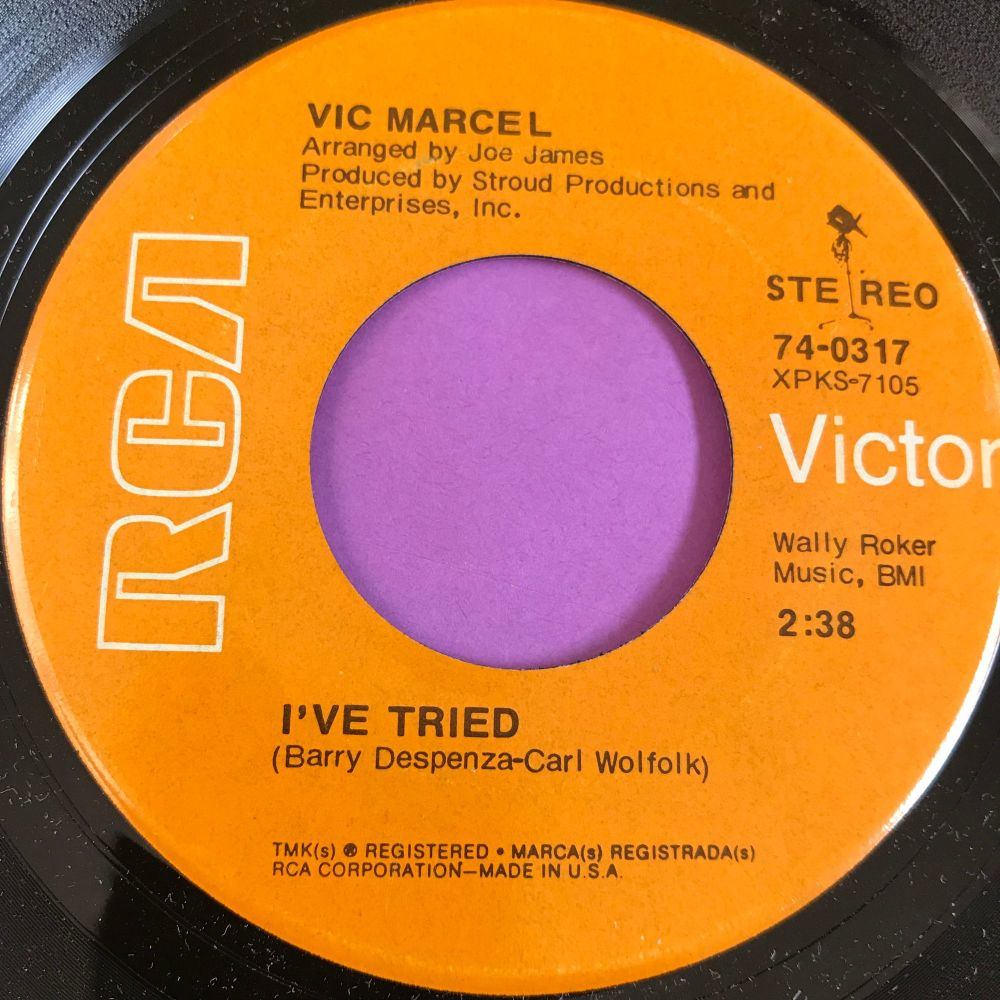 Vic Marcel-I've tried-RCA E+