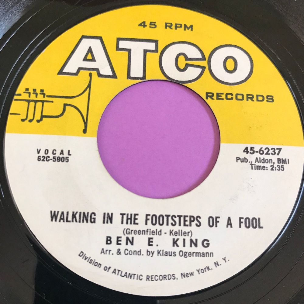 Ben E King-Walking in the footsteps of a fool-Atco E+