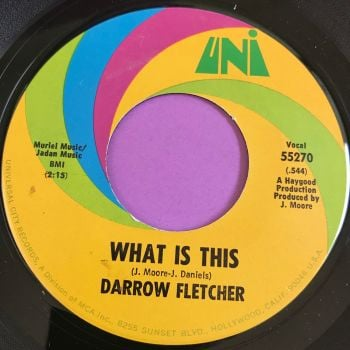 Darrow Fletcher-What is this-Uni M-