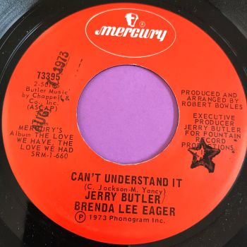 Jerry Butler & Brenda Lee Eager-Can't understand it-Mercury E+