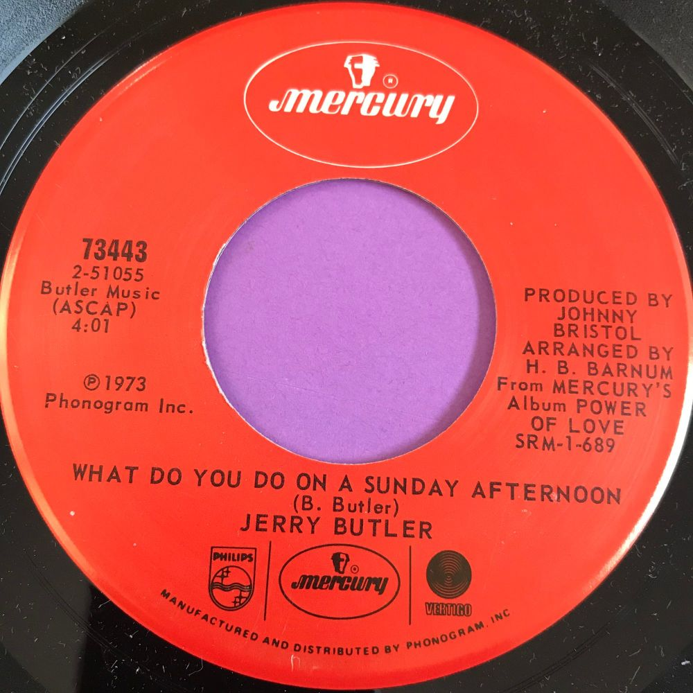 Jerry Butler-What to do on a Sunday afternoon-Mercury M-