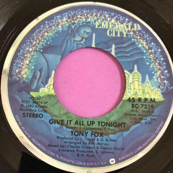 Tony Fox-give it all up tonight-Emerald City E+