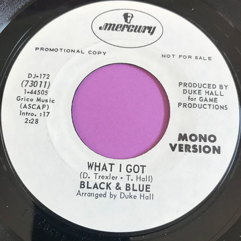 Black & Blue-What I got-Mercury WD M-