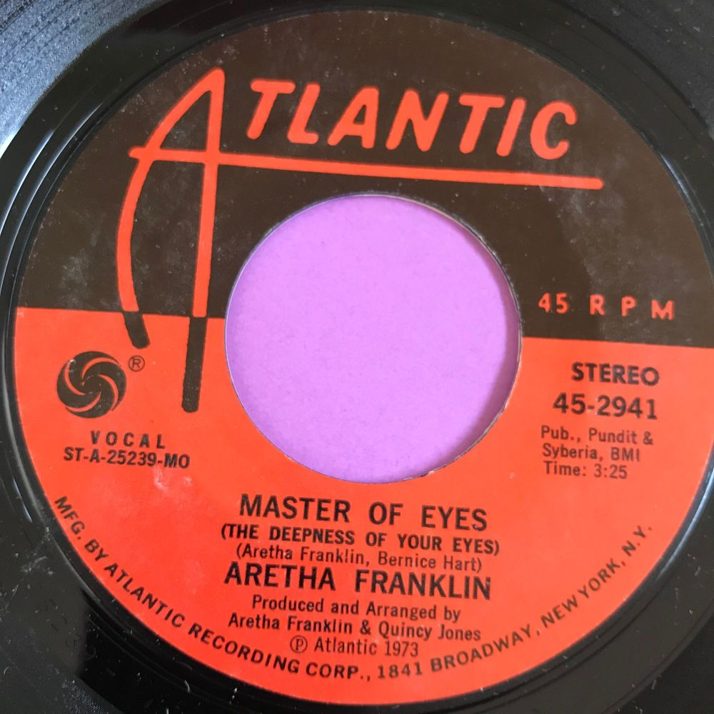 Aretha Franklin-Master of eyes-Atlantic E+