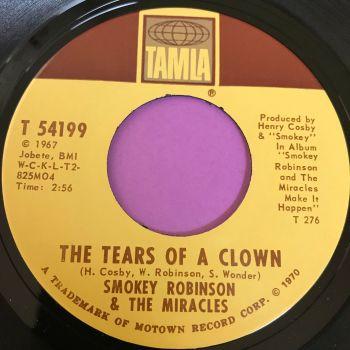 Miracles-Tears of a clown-Tamla E+