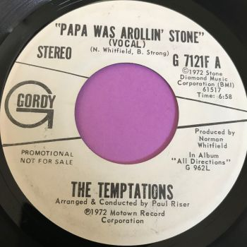 Temptations-Papa was a rolling stone-Gordy WD E+