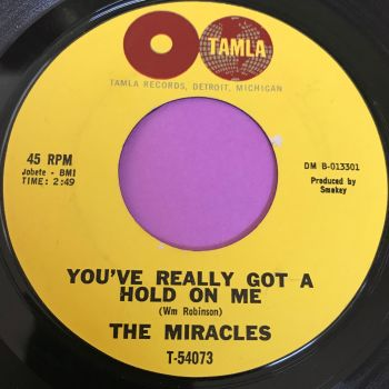 Miracles-You've really got a hold on me-Tamla E