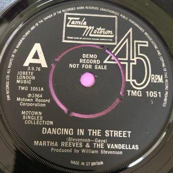 Martha Reeves-Dancing in the street-TMG 1051 Demo E+