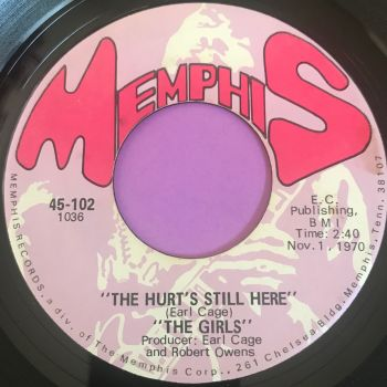 Girls-The hurt's still there-Memphis E