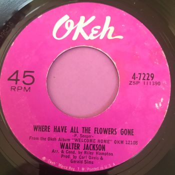 Walter Jackson-Where have all the flowers gone-Okeh E+