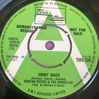 Martha Reeves-Jimmy Mack-TMG 599 Demo E+