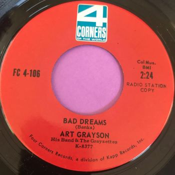 Art Grayson-Bad dreams-4 Corners M-
