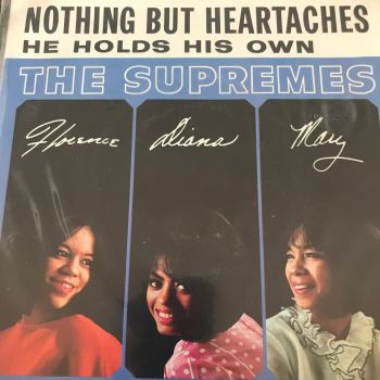 Supremes-Nothing but heartaches/He holds his own-Motown PS E+