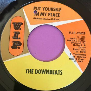 Downbeats-Put yourself n my place-VIP E+