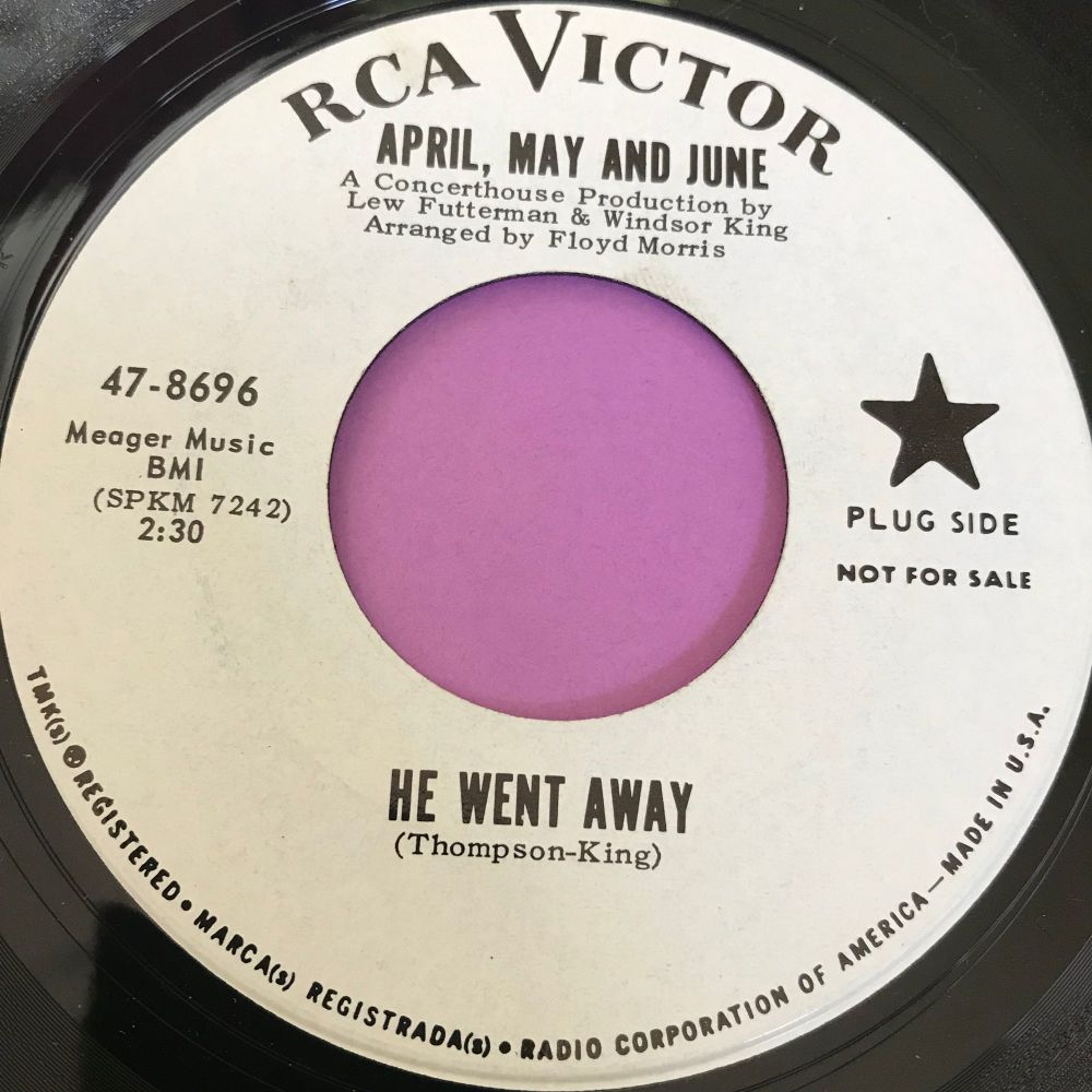 April, May and June-He went away-RCA WD M-
