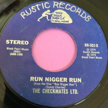 Checkmates Ltd-Run N***r run-Rustic E+