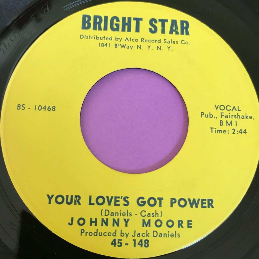 Johnny Moore-Your love's got power-Bright star M-