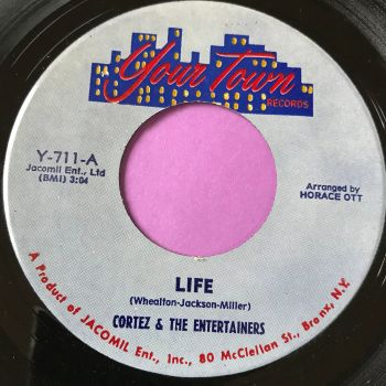 Cortez & the Entertainers-Life-Your town E+