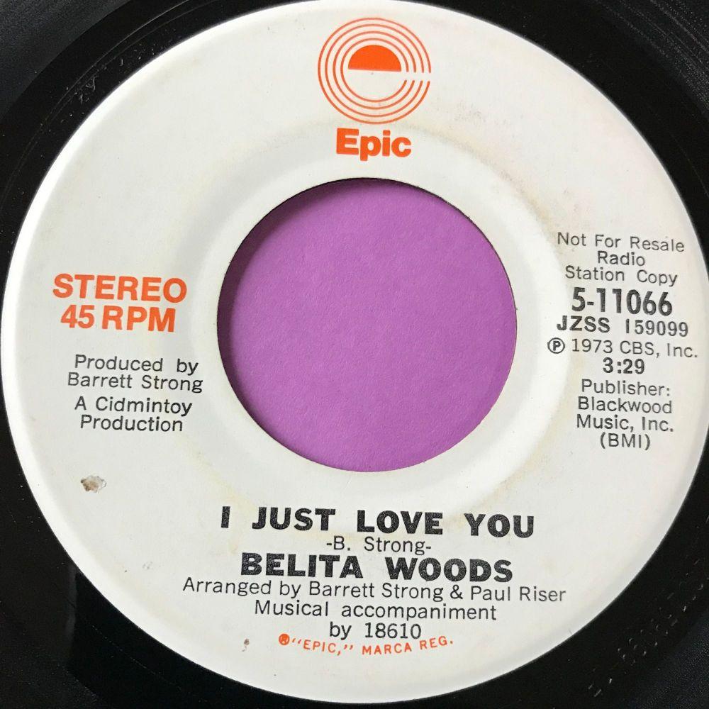Belita Woods-I just love you-Epic demo E+