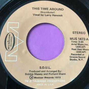 SOUL-This time around-Musicor E+