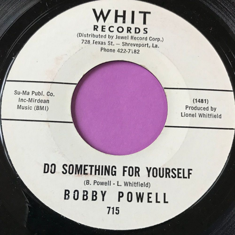 Bobby Powell-Do something for yourself-Whit WD E+