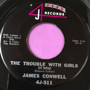 James Conwell-The trouble with girls-4J E