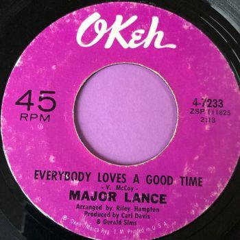 Major Lance-Everybody loves a good time-Okeh vg+