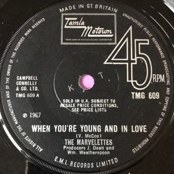 Marvelettes-When you're young and in love-TMG 609 Demo E-
