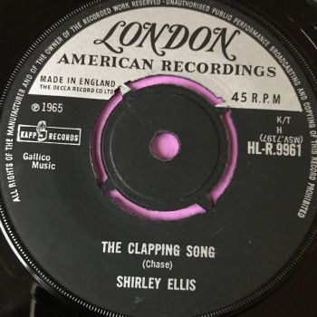 Shirley Ellis-The clapping song-London E