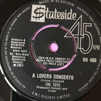 Toys-A lovers concerto-UK Stateside vg+