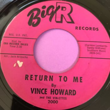 Vince Howard-Wayward Wind-Big R E