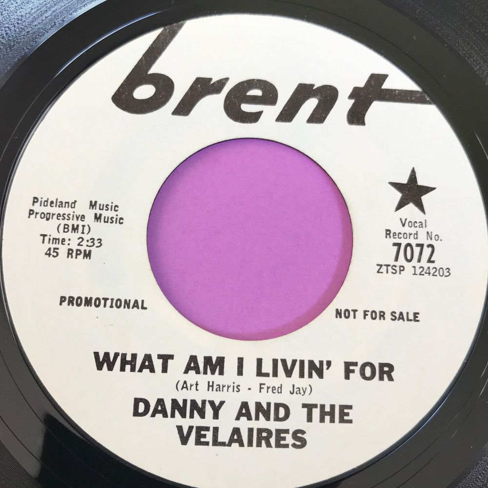 Danny and the Velaires-What am I livin' for-Brent WD E+