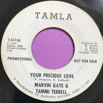 Marvin & Tammi-Your precious love-Tamla WD E+