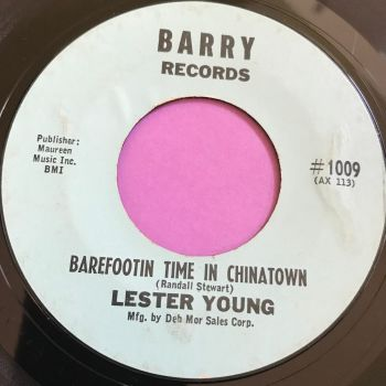 Lester Young-Barefootin time in Chinatown-Barry E