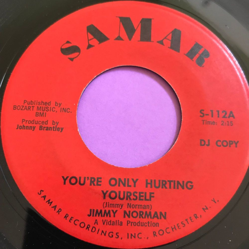 Jimmy Norman-You're only hurting yourself-Samar E+