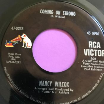 Nancy Wilcox-Coming on strong-RCA E+