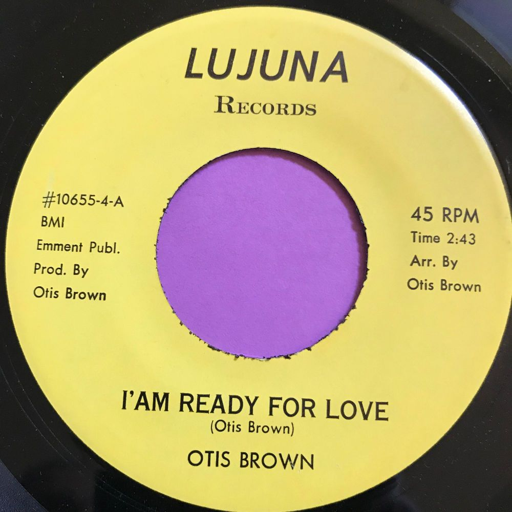 Otios Brown-I am ready for love/Will you wait-Lujuna M-