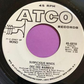 Dee Dee Warwick-Suspicious minds-Atco WD M-