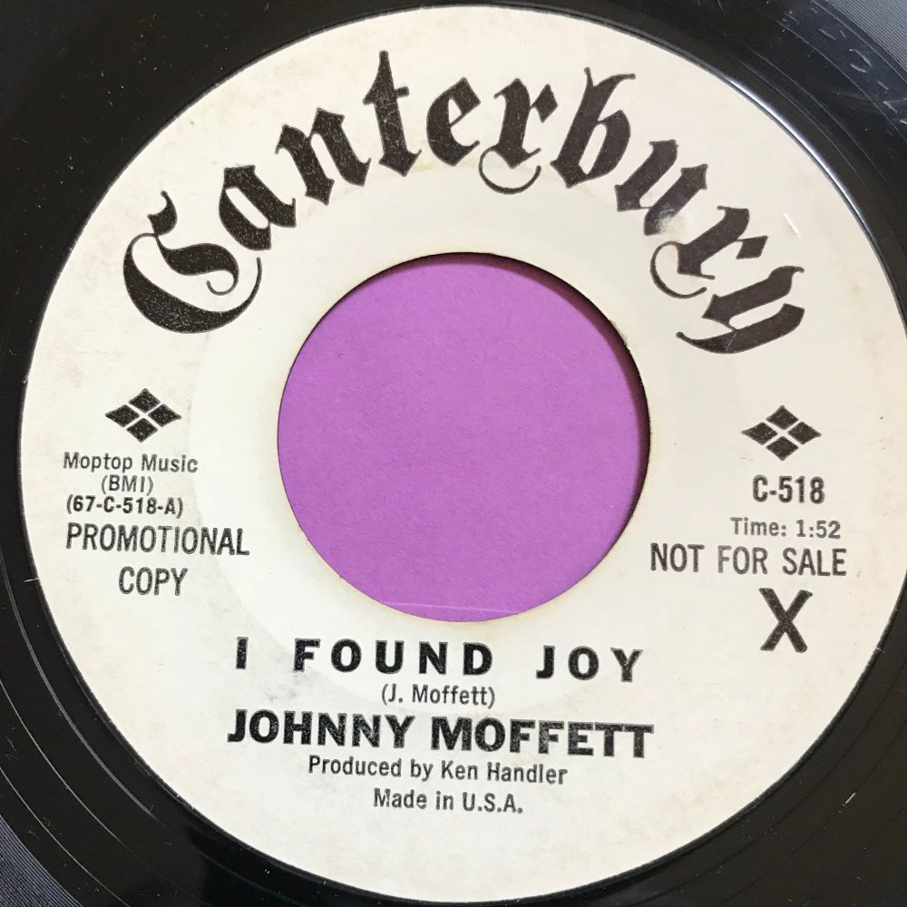 Johnny Moffett-I found joy-Canterbury WD E